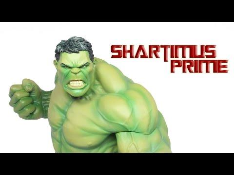 Kotobukiya Hulk Marvel NOW ArtFX+ 1:10 Scale Avengers Statue Review