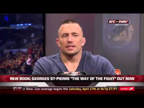 GSP On UFC Tonight 23.4.2013