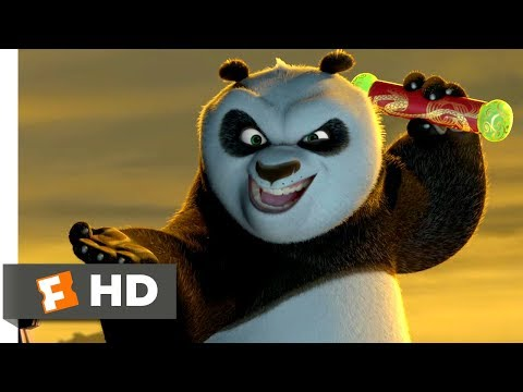 Kung Fu Panda (2008) - Fight For The Dragon Scroll Scene (9/10)   Movieclips