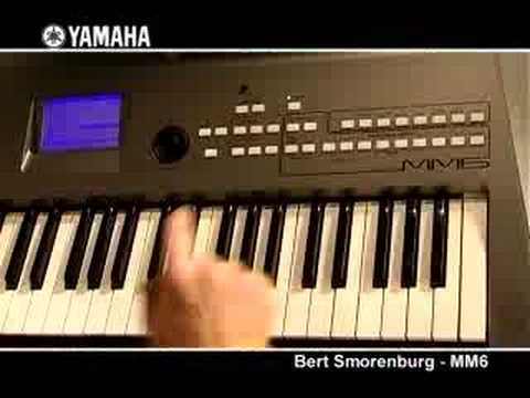 Bert Smorenburg and the Yamaha MM6