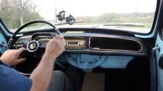 1964 Renault Dauphine Automatic - In Car Drive!