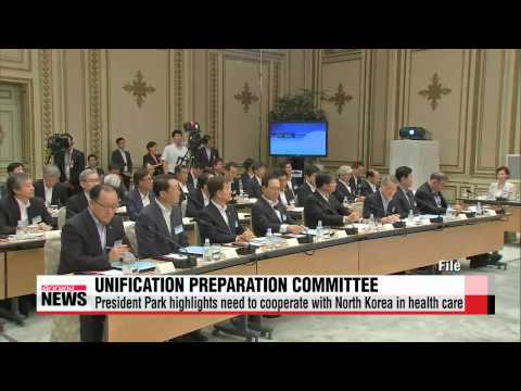 President Park stresses cooperation with North Korea for health care   박 대통령 &qu