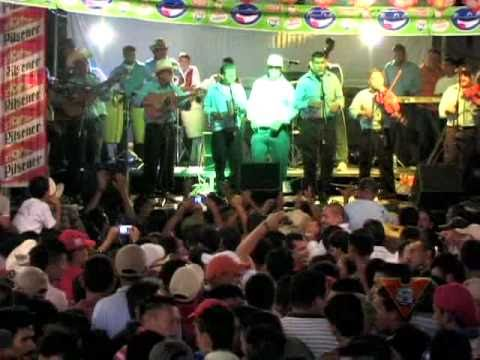 Sonora Cipriceña en el Festival Campirano de Chanchonas 2010, San Miguel El Salvador