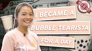 Hired or Fired: Bubble Tearista For A Day