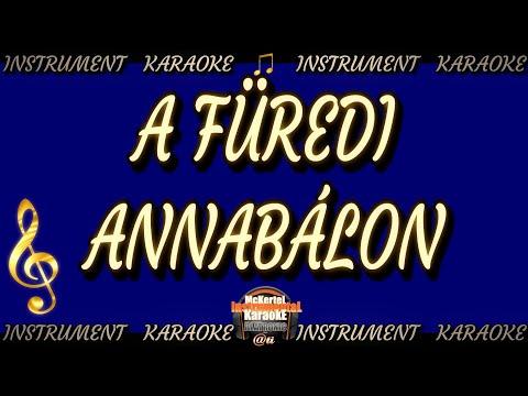A füredi Annabálon - PopUp ver. (Intsrument/karaoke)