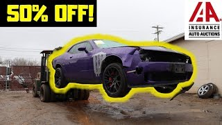 Rebuilding a Wrecked Dodge 2016 Hellcat bought from Copart