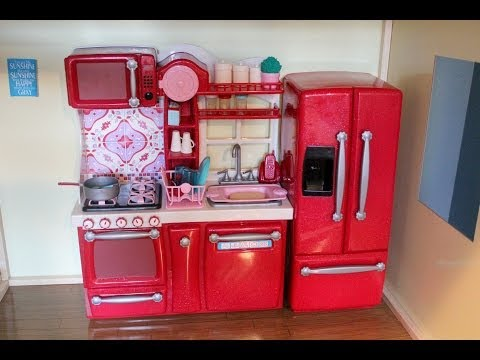 Opening/Review of Our Generation Kitchen Set for American Girl Dolls