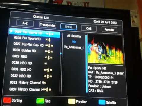 AZBOX THUNDER HD DOBLE TUNNER 3