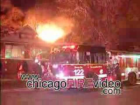 Chicago Fire Department - 8000 S Lafayette Video