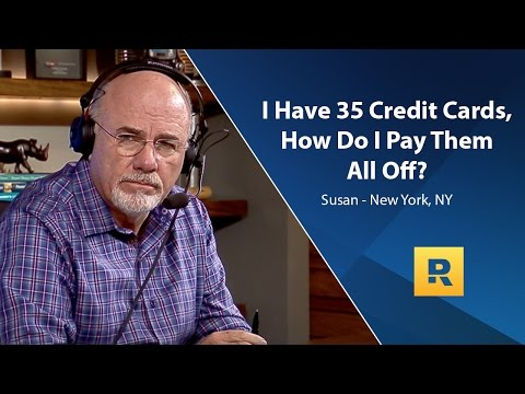 I Have 35 Credit Cards, How Do I Pay Them All Off?