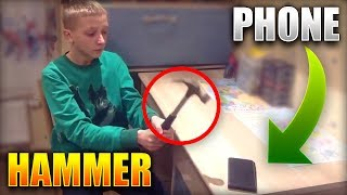 5 KIDS THAT DESTROYED THEIR PHONES WHILE PLAYING CLASH ROYALE!