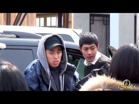 2014.02.19. 김현중 Kim Hyun Joong 감격시대 - Shoes Pick On Hj All Day Long! (yongin Filming Set) video