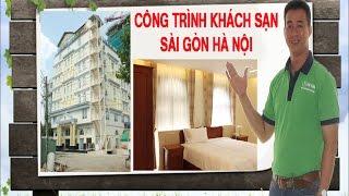 Rèm cửa Khách sạn 3 sao Sài Gòn Hà Nội