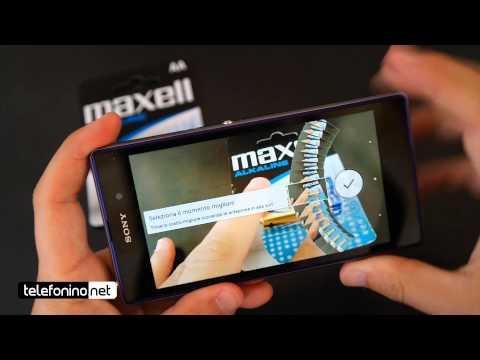 Sony Z1 videoreview da Telefonino.net