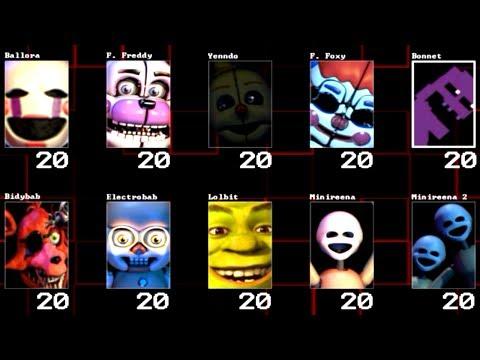 Five Nights at Freddy's: Sister Location NEW Custom Night (MOD)