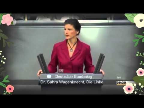 Сара Вагенкнехт: Вы видели военный парад в России? Я никому не советую воевать с этой страной.