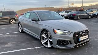 2019 Audi RS5 Sportback: Quick Review & Drive