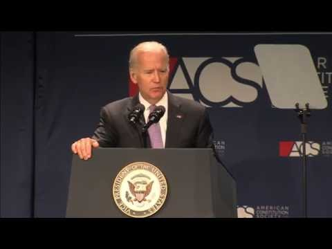 Vice President Joe Biden  - ACS Convention 2016