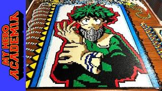 Midoriya - My Hero Academia (IN 35,148 DOMINOES!)