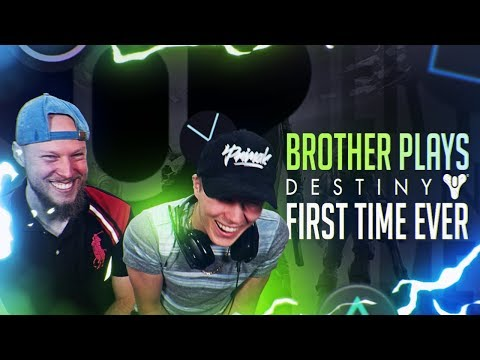 Brother Plays Destiny For The First Time Ever!