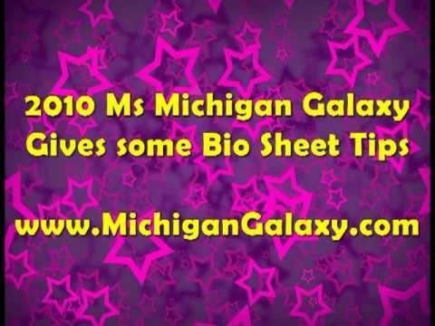 Bio Sheet mi Galaxy Pageant Bio Sheet