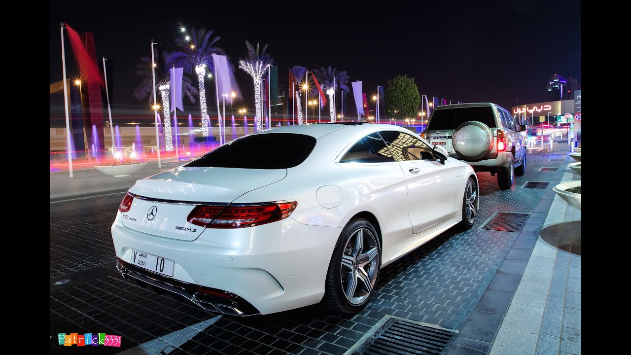 """2015 Mercedes-Benz S63 4matic Coupe """"V10"""" spotted in Dubai ..."""