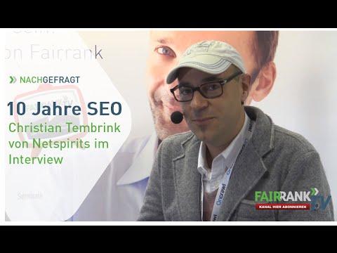 10 Jahre SEO Teil 3 - Christian Tembrink im Interview | FAIRRANK TV - Nachgefragt