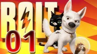 Disney's Bolt Game Walkthrough Part 1 (PS3, X360, Wii, PS2, PC)