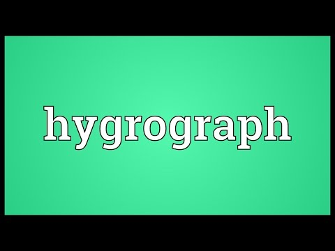 Header of hygrograph