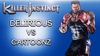 Killer Instinct Ep. 5 (Delirious Vs Cartoonz!) Xbox One