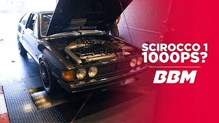 1.000 PS? | VW Scirocco I von 1980 on Dyno by BBM