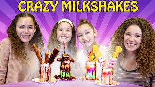 CRAZY Candy Birthday Milkshakes! Gracie