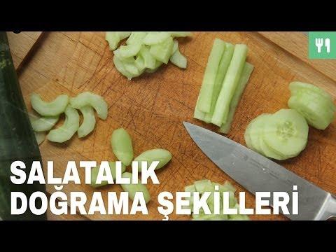 Salatalık Doğrama Şekilleri