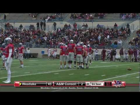 Westlake vs A&M Consolidated 2012 Playoffs - Full Game