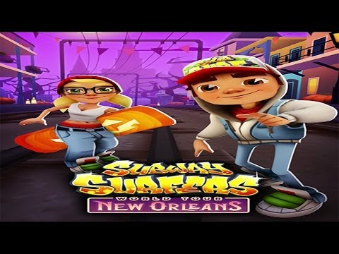 Subway Surfers World Tour: New Orleans (Zombie Jack Halloween Special)  Gameplay #2 [HD]