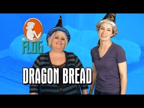 Felicia & Robin Make Dragon Bread!