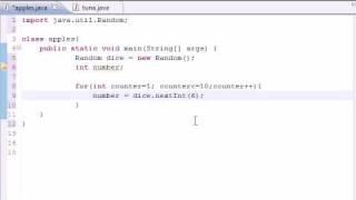 Java Programming Tutorial - 26 - Random Number Generator