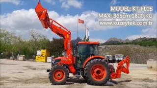 KUZEYTEK MAKİNA KUBOTA M9540 KEPÇE VİDEO
