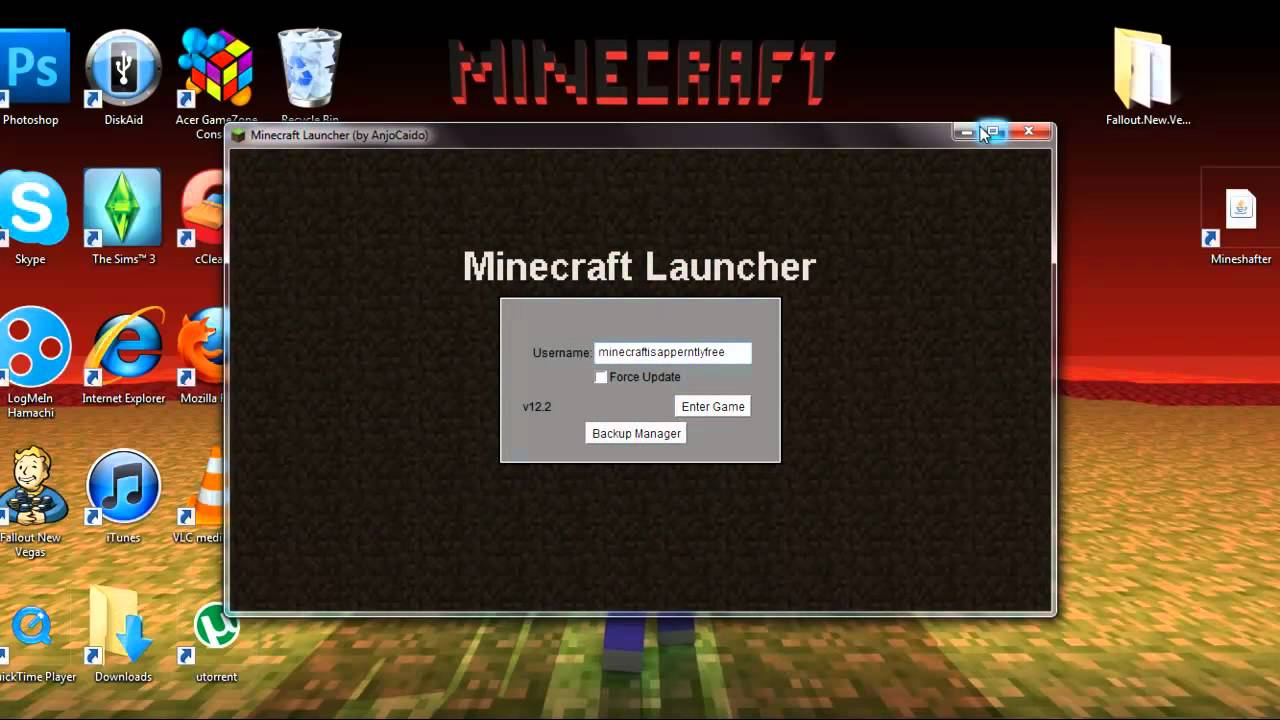 Minecraft PC Full Version Free Download • FrontLine Gaming