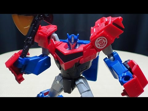 Robots In Disguise 2015 Warrior Optimus Prime: Emgo's Transformers Reviews N' Stuff video
