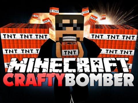 Minecraft CRAFTY BOMBER!! - WHY YOU DO DIS SERVER?!