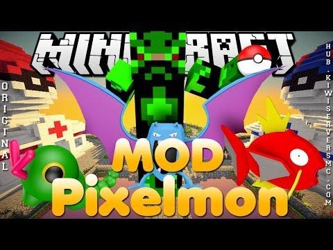 Divulgação de Server Minecraft 1.6.4 MOD Pixelmon [Original]