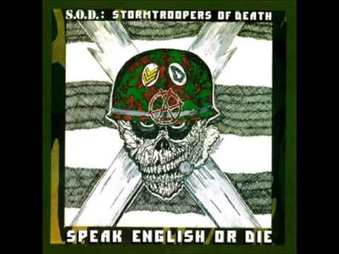 Stormtroopers Of Death - Speake english or die