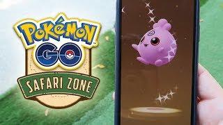 ¡IGGLYBUFF SHINY y otro BABY SHINY ABRIENDO HUEVOS ESPECIALES del Pokémon GO SAFARI ZONE! [Keibron]