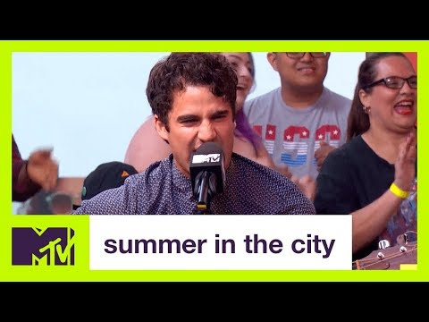 Darren and Chuck Criss Freestyle | Summer in the City | MTV