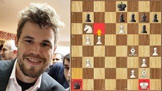 The Whiskey Immortal || Carlsen vs Karjakin || Lindores Abbey Chess Stars (2019)