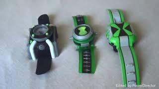 Ben 10 Reboot DX Omnitrix VS Ben 10 Alien Force Omnitrix VS Ben 10 Omniverse Omnitrix
