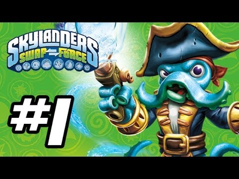 Skylanders Swap Force Gameplay Walkthrough - Part 1 - Intro!! (Skylanders Gameplay HD)