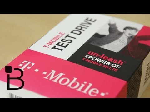 T-Mobile Test Drive Impressions