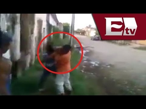 VIDEO: Niño con síndrome de Down es golpeado / Titulares con Vianey Esquinca